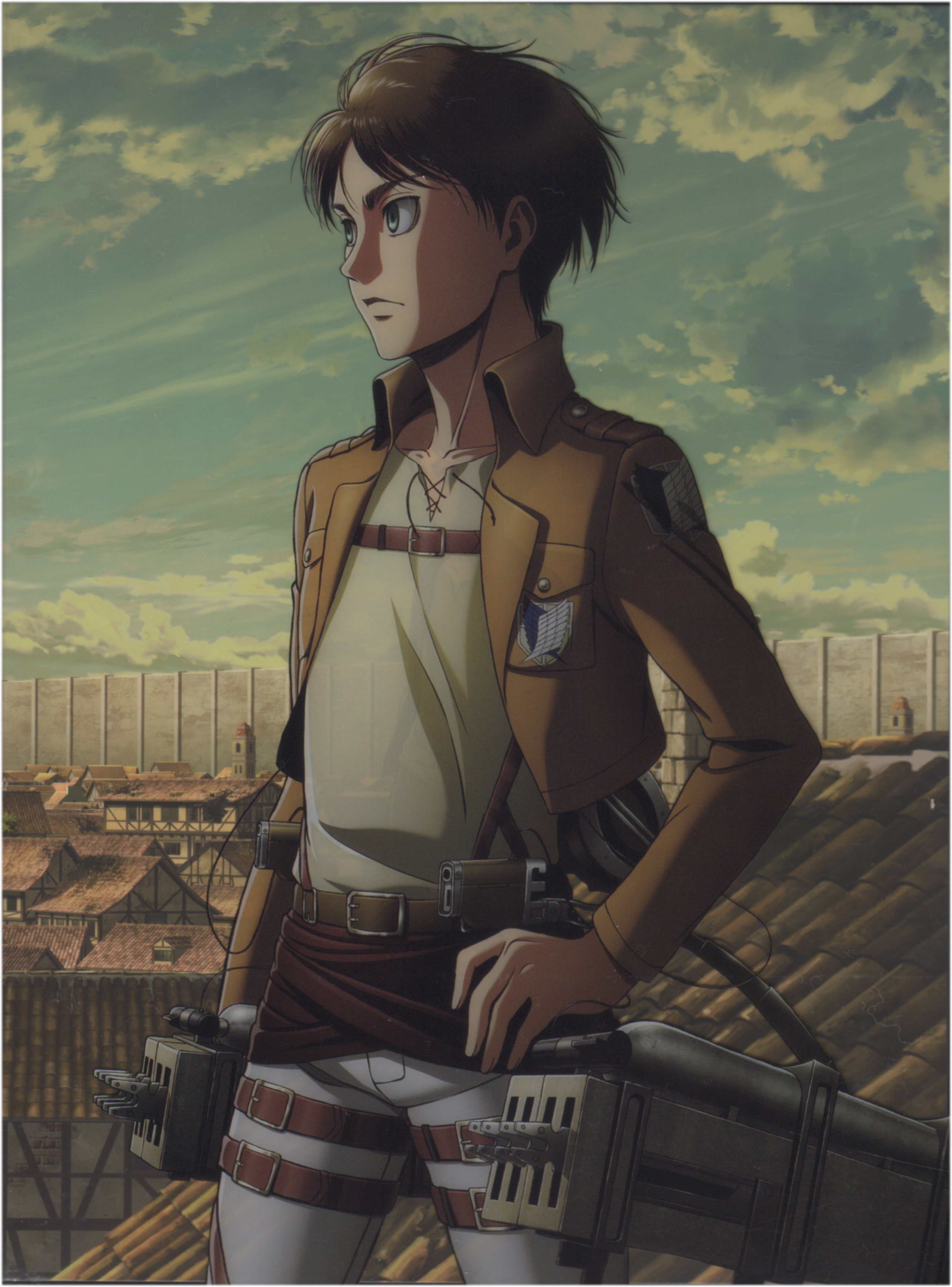 Eren Jaeger (Eren Yeager) - Attack on Titan - Image #2730006 - Zerochan  Anime Image Board