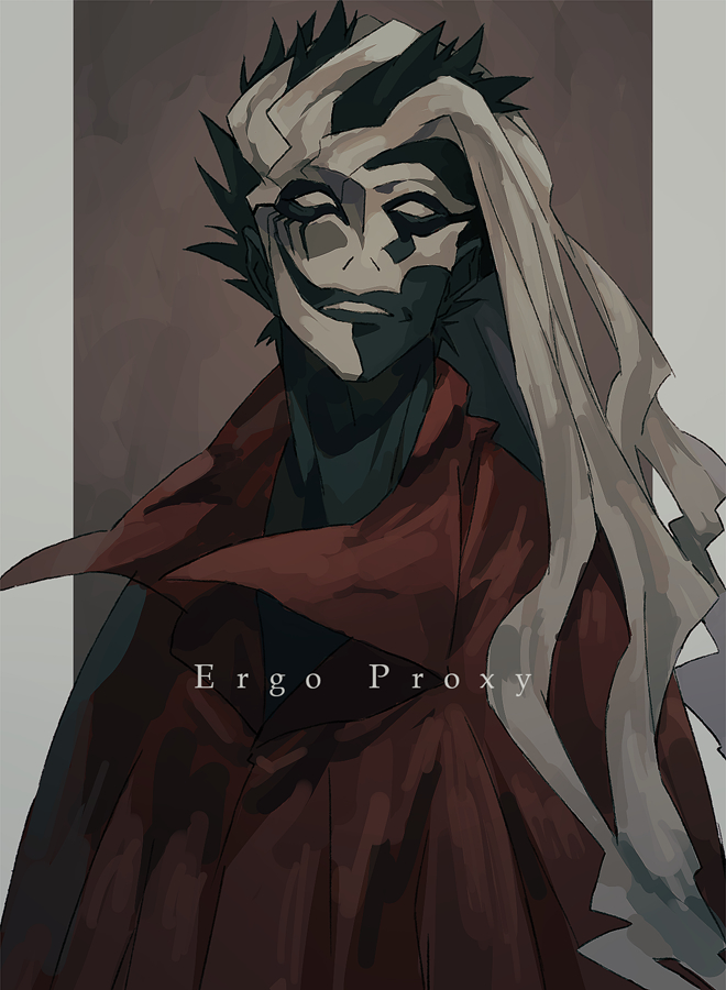 Gif monochrome ergo proxy animated gif on gifer by brightseeker.