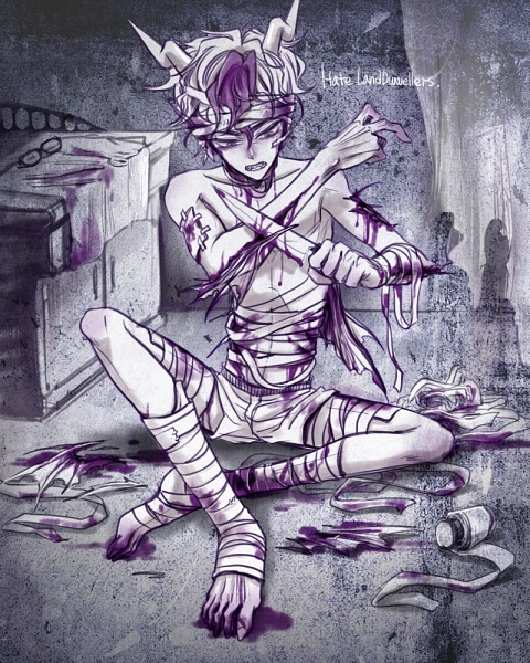 Tags: Anime, Fanart, Homestuck, Eridan Ampora, Tabri17th