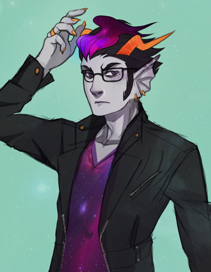Tags: Anime, Fanart, Homestuck, Eridan Ampora, Tumblr
