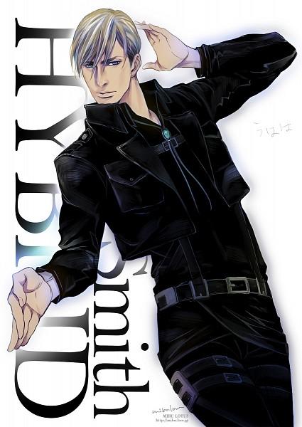 Tags: Anime, Mibu Lotus, Shingeki no Kyojin, Erwin Smith, Bolo Tie, One Arm Up