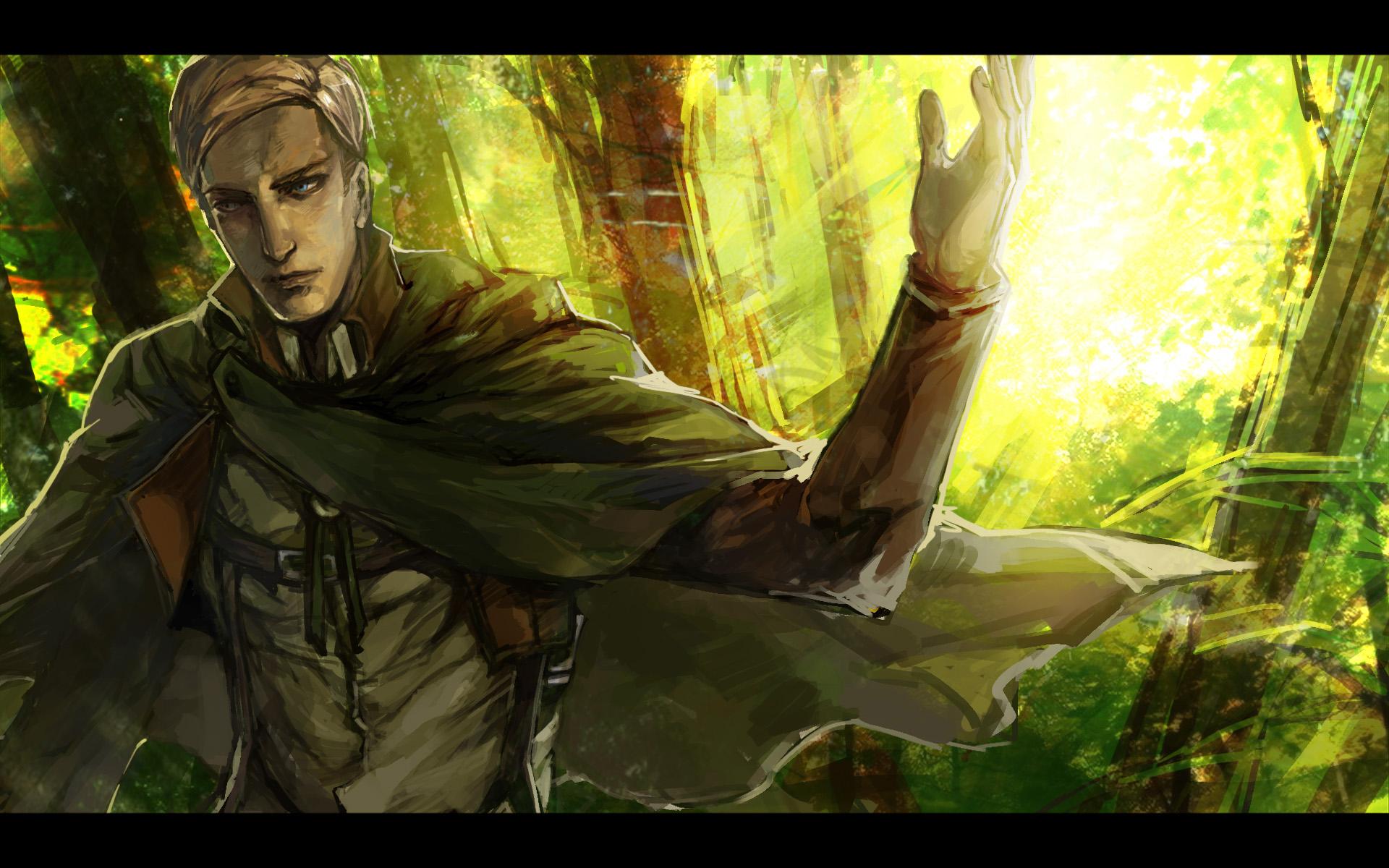 Erwin Smith Attack On Titan Wallpaper 1596713 Zerochan Anime Image Board