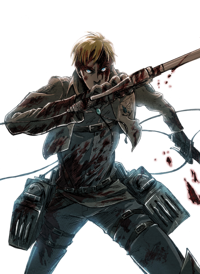 Erwin Smith Attack On Titan Zerochan Anime Image Board