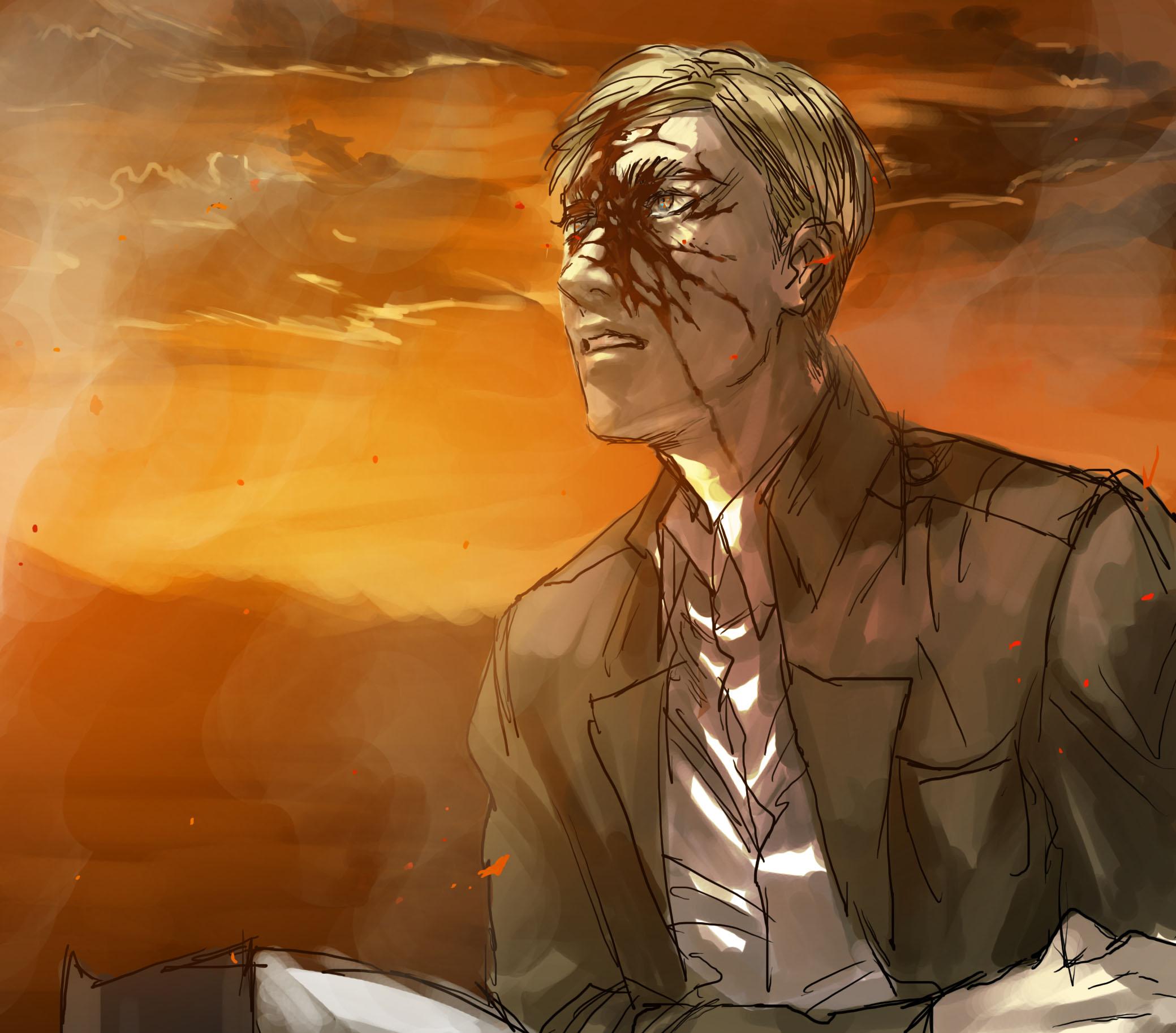 Erwin Smith - Attack on Titan - Image #2140430 - Zerochan Anime Image Board