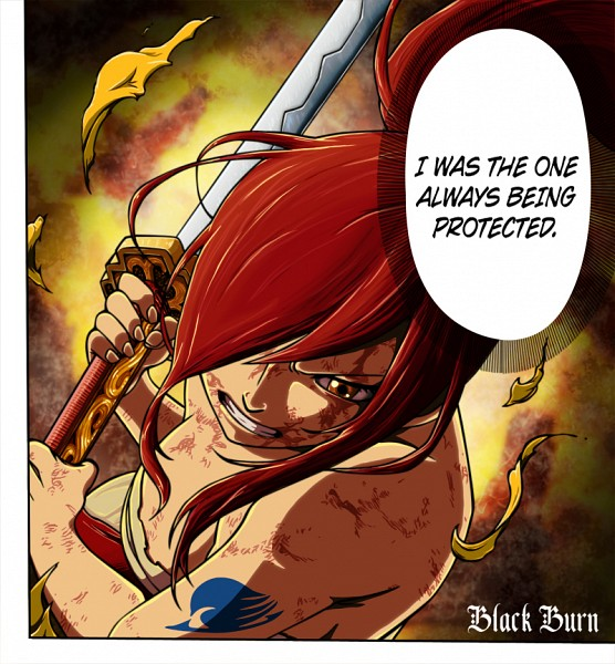 Tags: Anime, Mashima Hiro, FAIRY TAIL, Erza Scarlet, Injury
