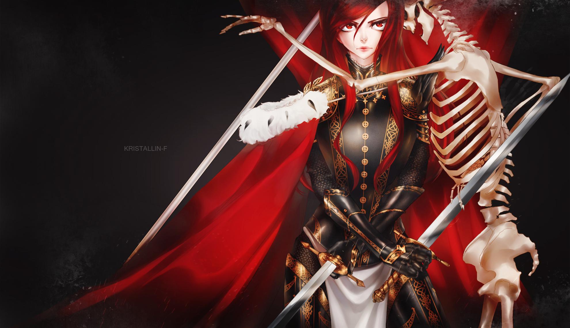 Erza Scarlet Fairy Tail Wallpaper 1800248 Zerochan