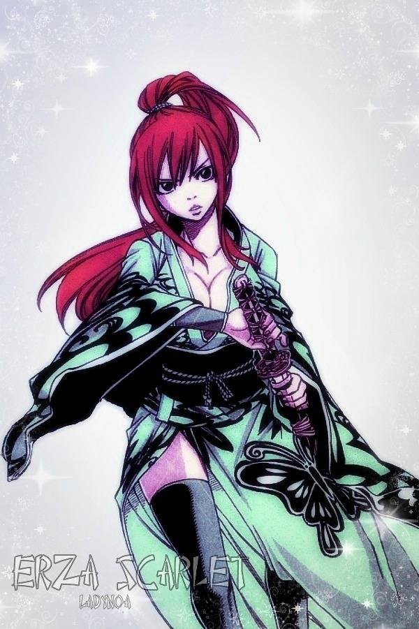 Tags: Anime, FAIRY TAIL, Erza Scarlet, Colorization, deviantART