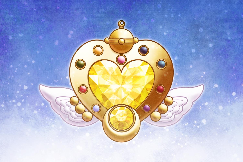 moon sailor eternal brooch brooches transformation items henshin zerochan senshi pixiv fanpop angels bishoujo still anime contrast character anj