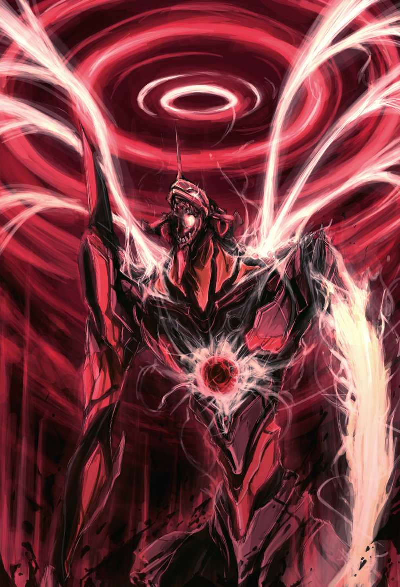 Eva 01 Neon Genesis Evangelion Zerochan Anime Image Board