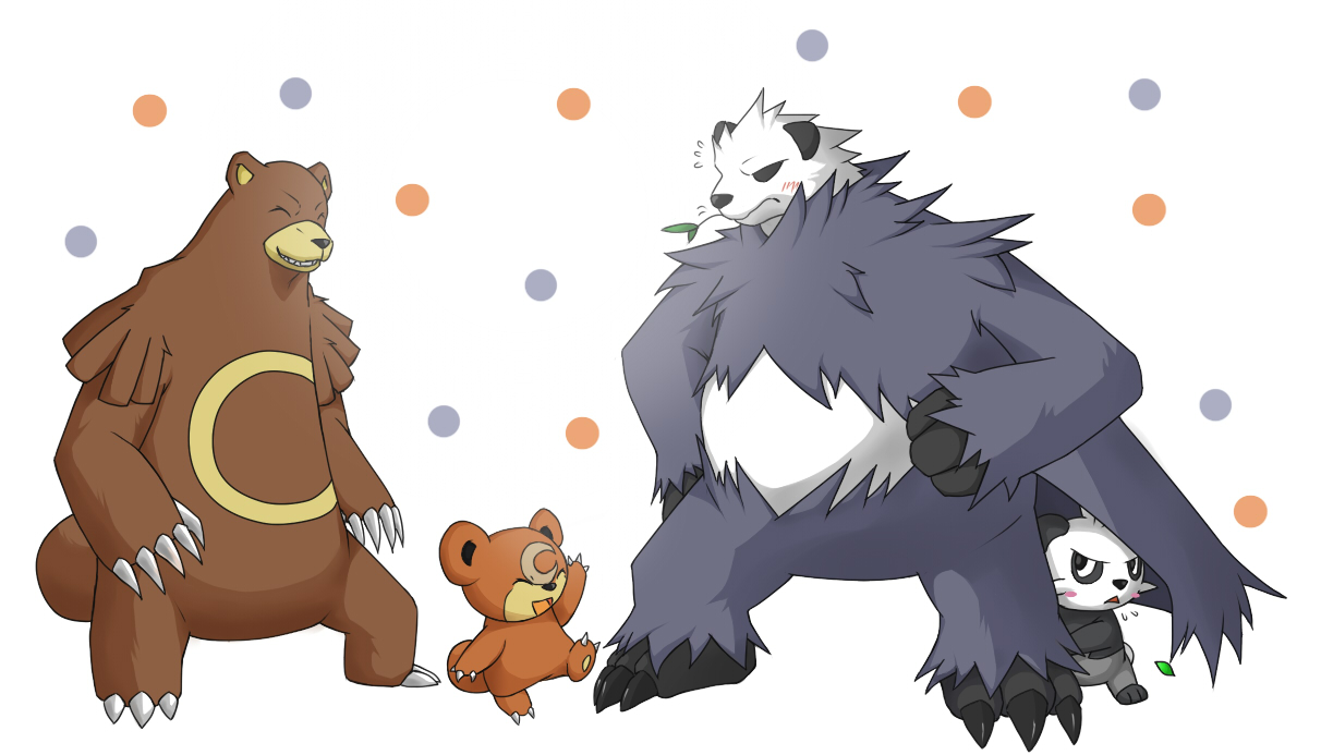 Image Gallery teddiursa evolution