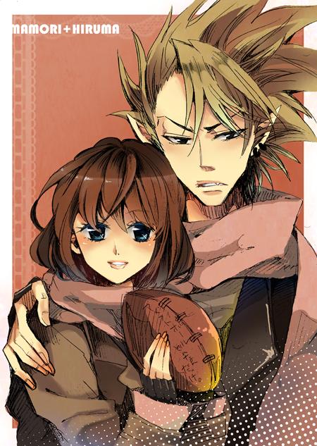 Tags Anime Risa Eyeshield 21 Anezaki Mamori Hiruma Yoichi