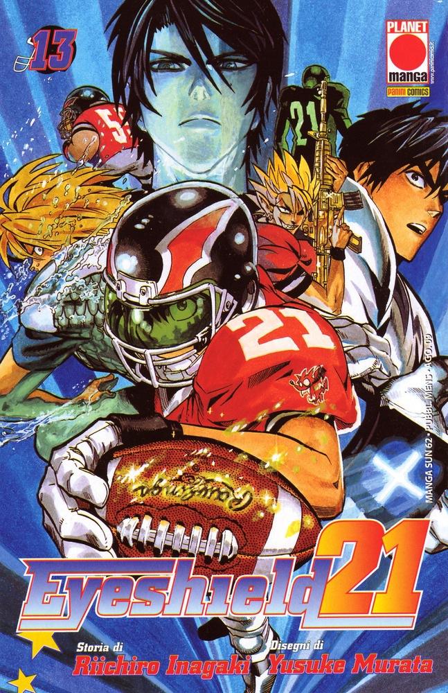 Tags: Anime, Eyeshield 21, Kobayakawa Sena, Hiruma Yoichi, Kengo Mizumachi, Shun Kakei, Seijuro Shin