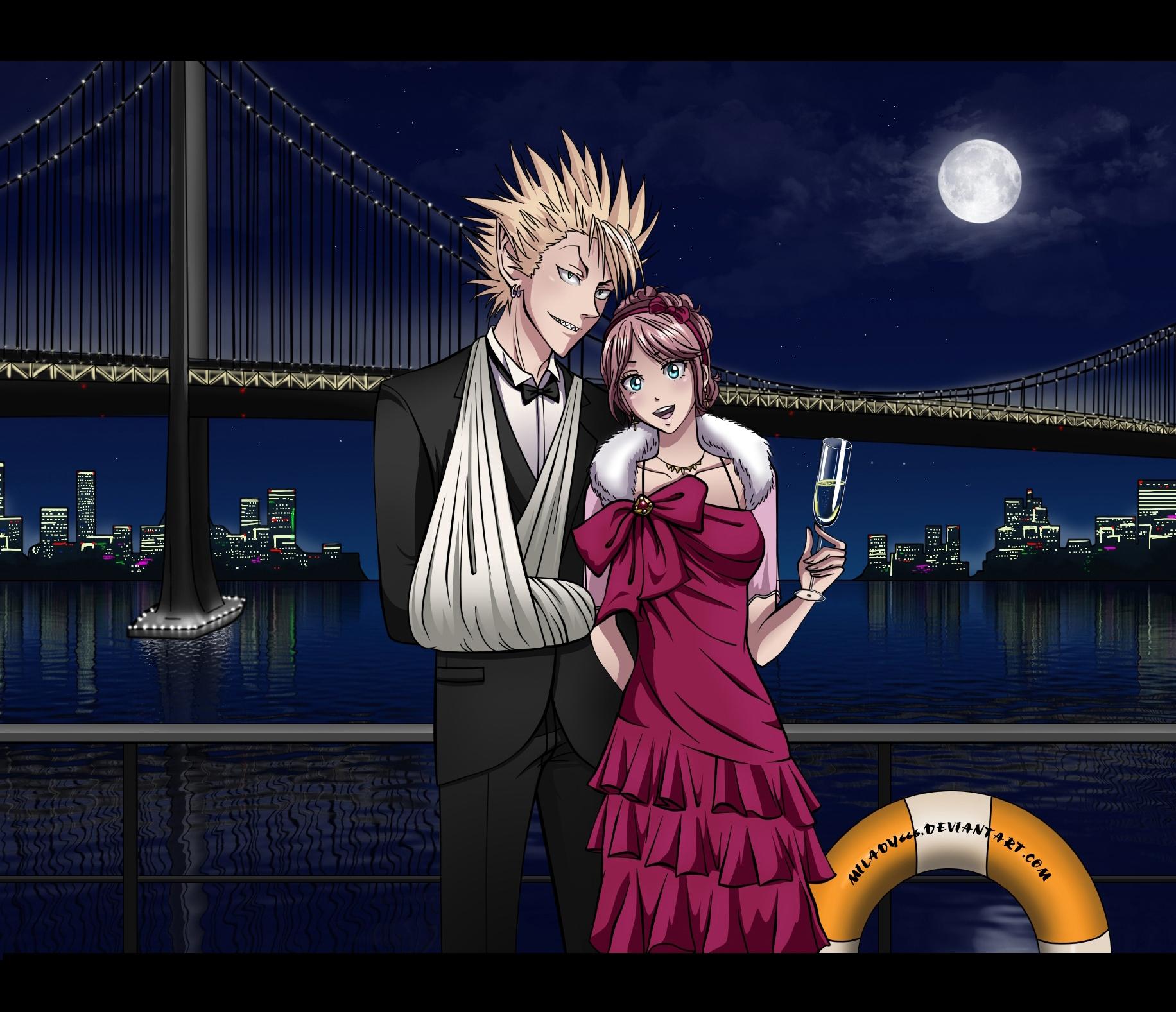 Tags Anime Milady666 Eyeshield 21 Anezaki Mamori Hiruma Yoichi Arm