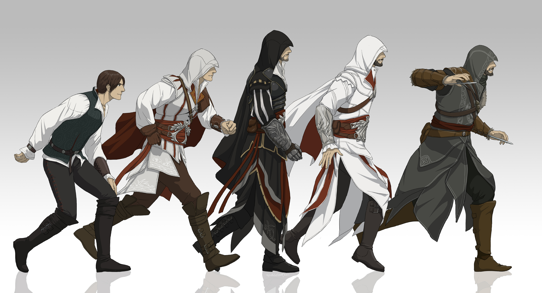 Ezio Auditore Da Firenze Assassin S Creed Ii Wallpaper