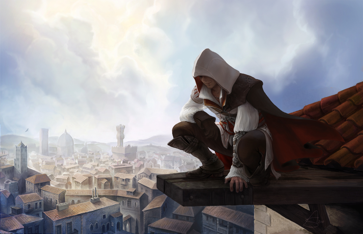 Ezio Auditore Da Firenze Assassin S Creed Ii Zerochan