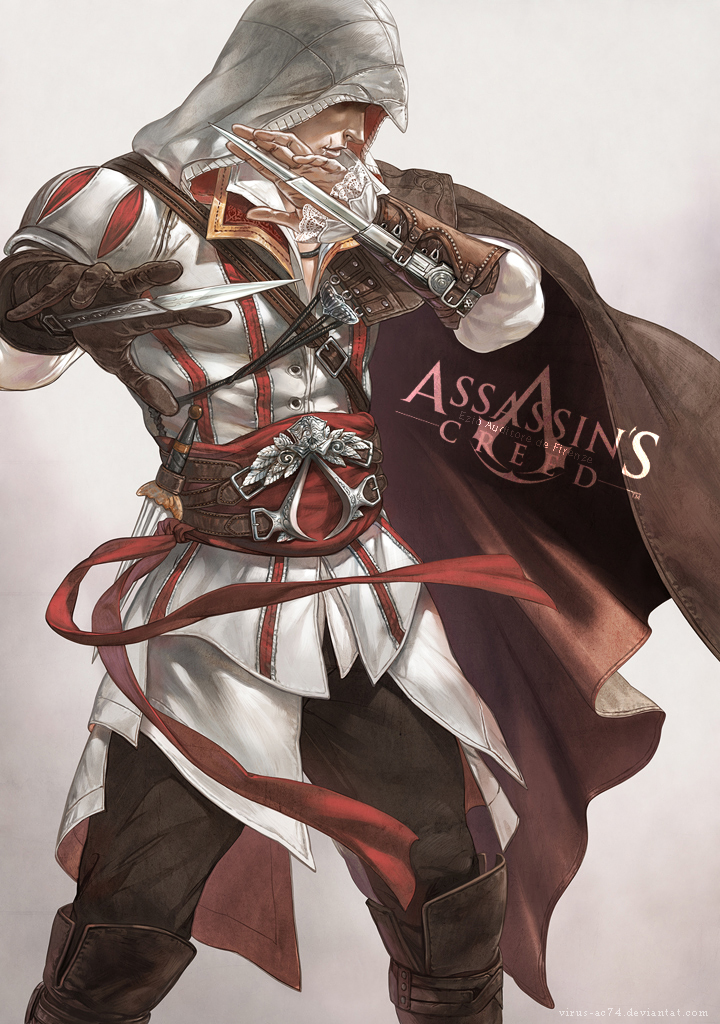 Ezio Auditore Da Firenze Assassin S Creed Ii Zerochan Anime