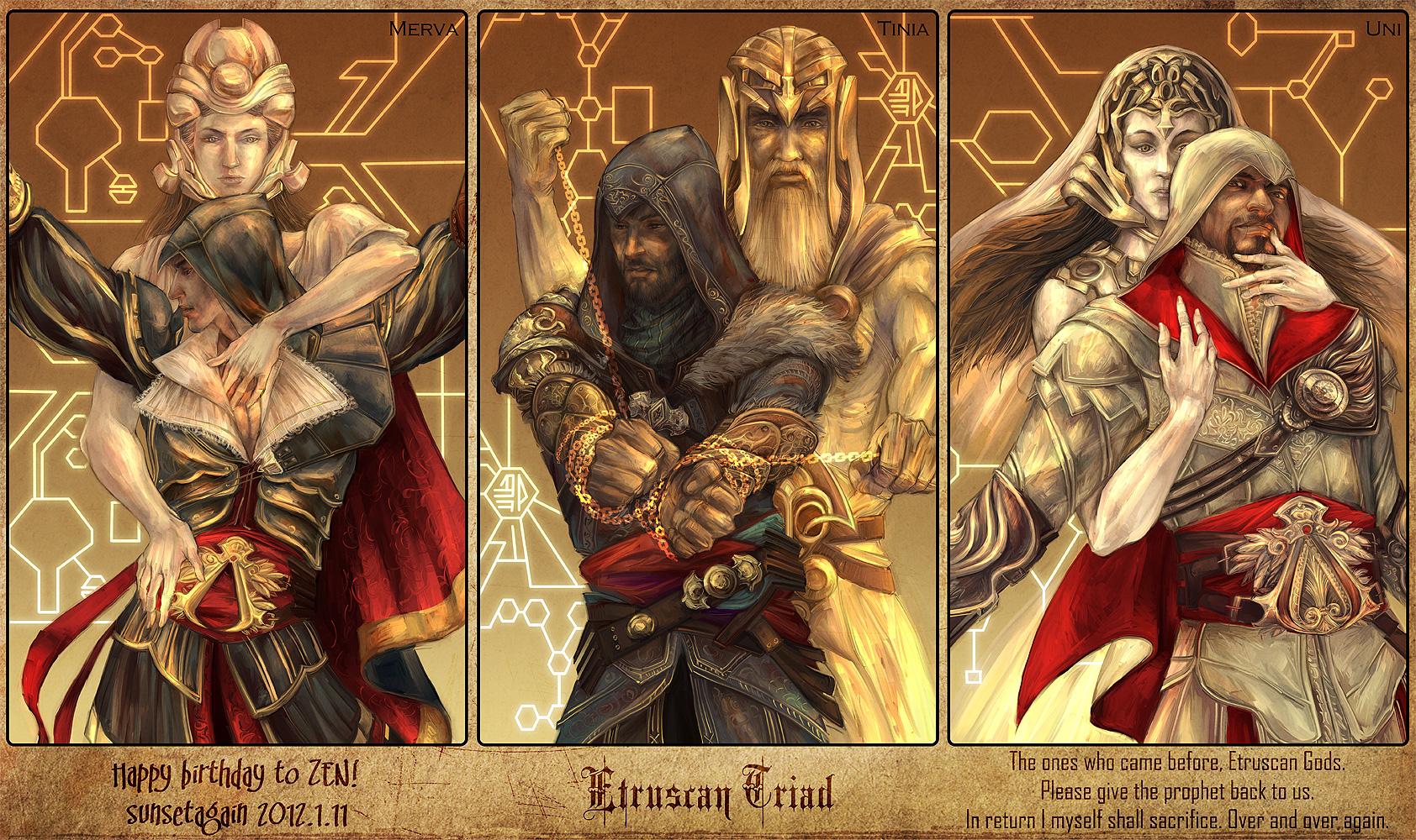 Ezio Auditore Da Firenze Assassin S Creed Ii Image