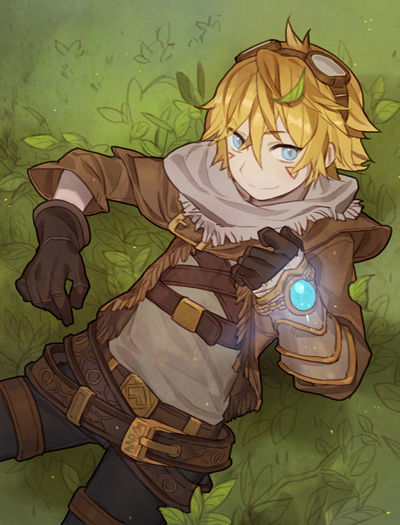 Tags: Anime, Gwayom, League of Legends, Ezreal, Pixiv, Fanart From Pixiv, Fanart, PNG Conversion