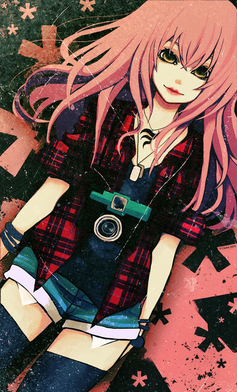 Anime girl with bangs tumblr