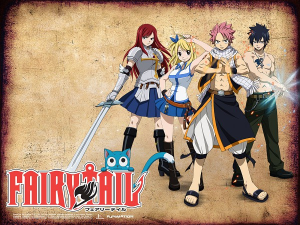 Tags: Anime, FAIRY TAIL, Natsu Dragneel, Happy (FAIRY TAIL), Erza Scarlet, Lucy Heartfilia, Gray Fullbuster