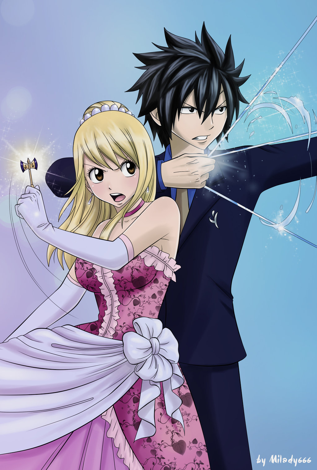 Graylu fairy tail zerochan anime image board - Image manga fairy tail ...