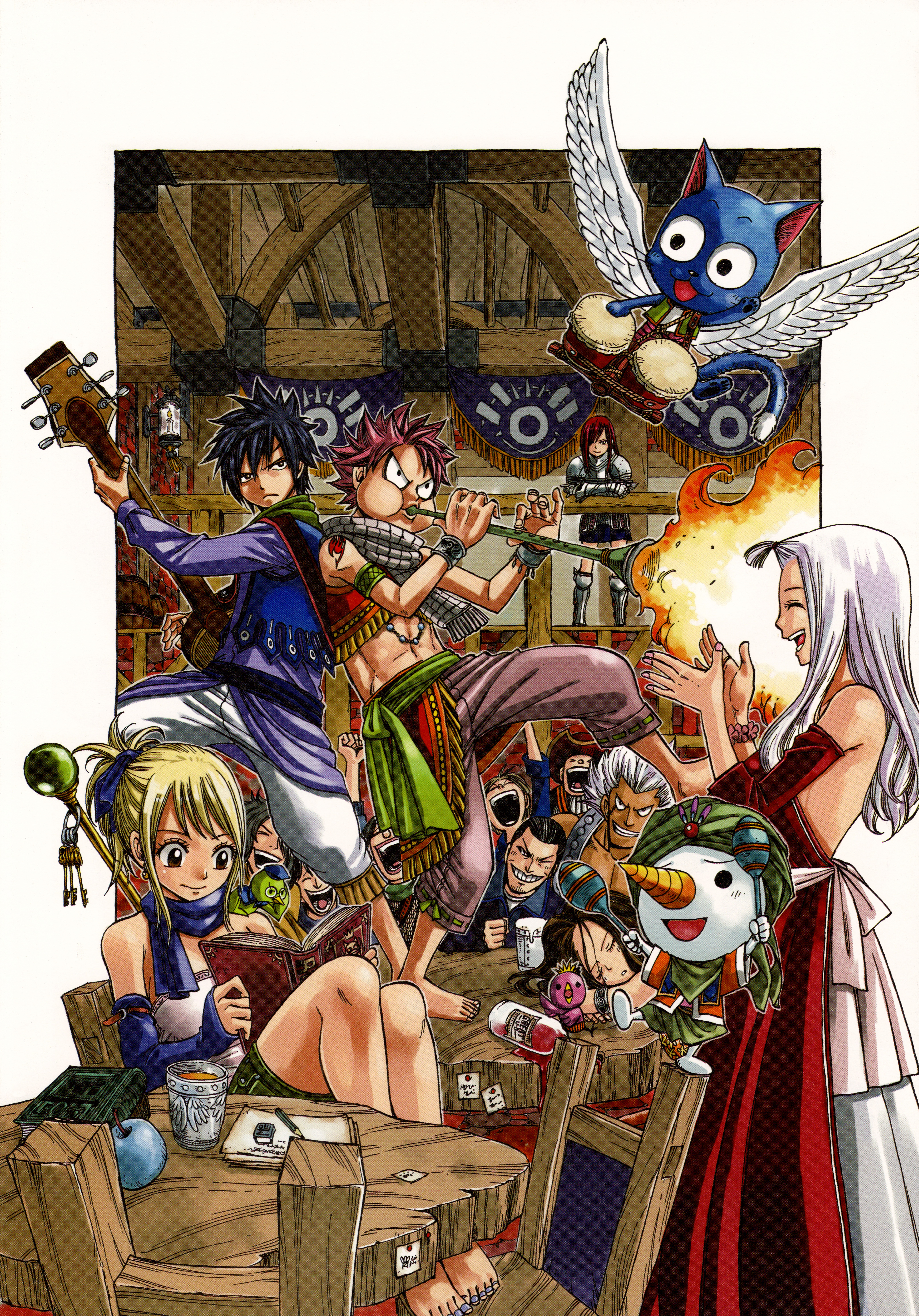 Fairy tail 1232400 zerochan - Fairy tail fantasia ...