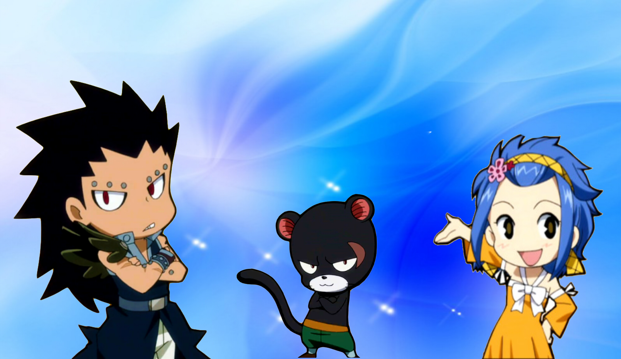 fairy tail levy and gajeel meet