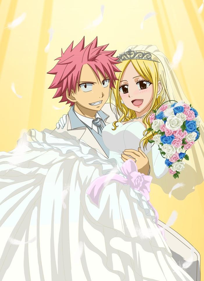 fairy wedding: NEW 10 FAIRY TAIL NATSU WEDDING