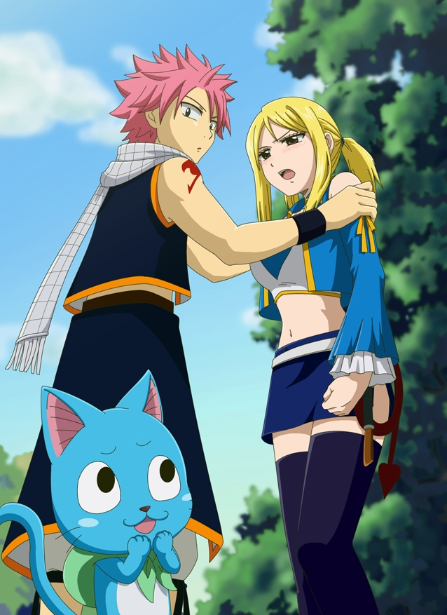 Tags Anime Pixiv Id 5297765 FAIRY TAIL Lucy Heartfilia Natsu Dragneel