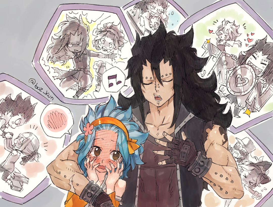 gajeel x levy family - photo #31