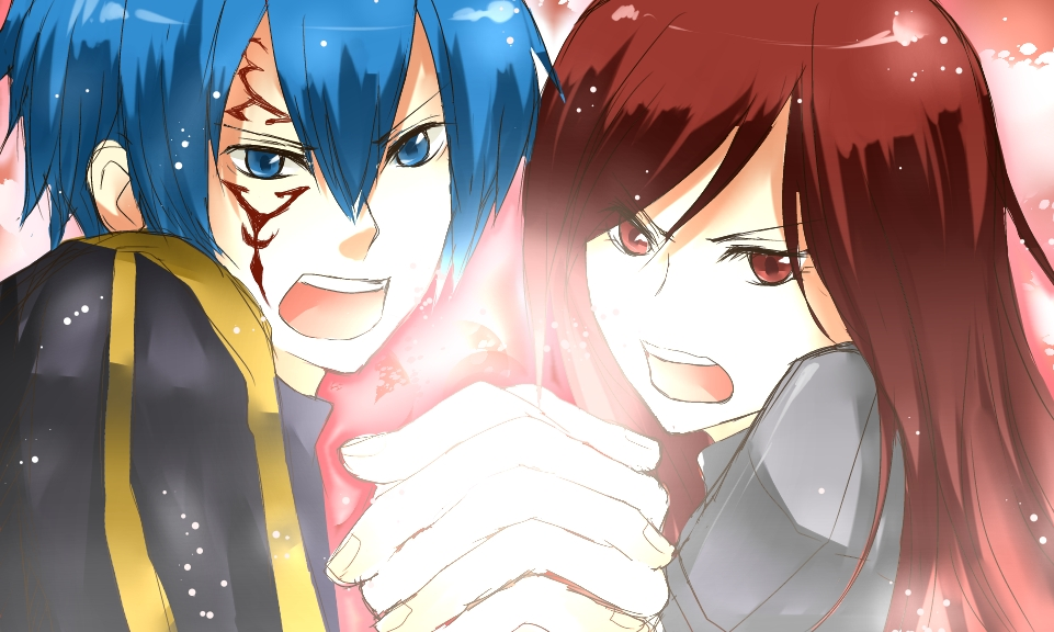 jellal embrasse lucy fairy tail