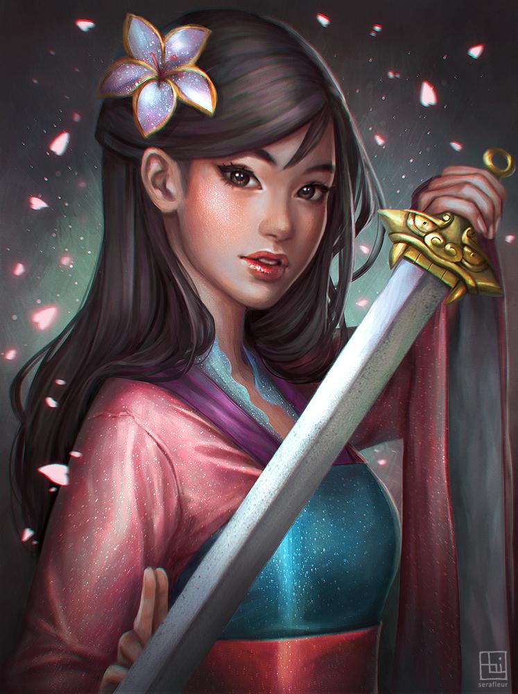 Fa Mulan - Zerochan Anime Image Board