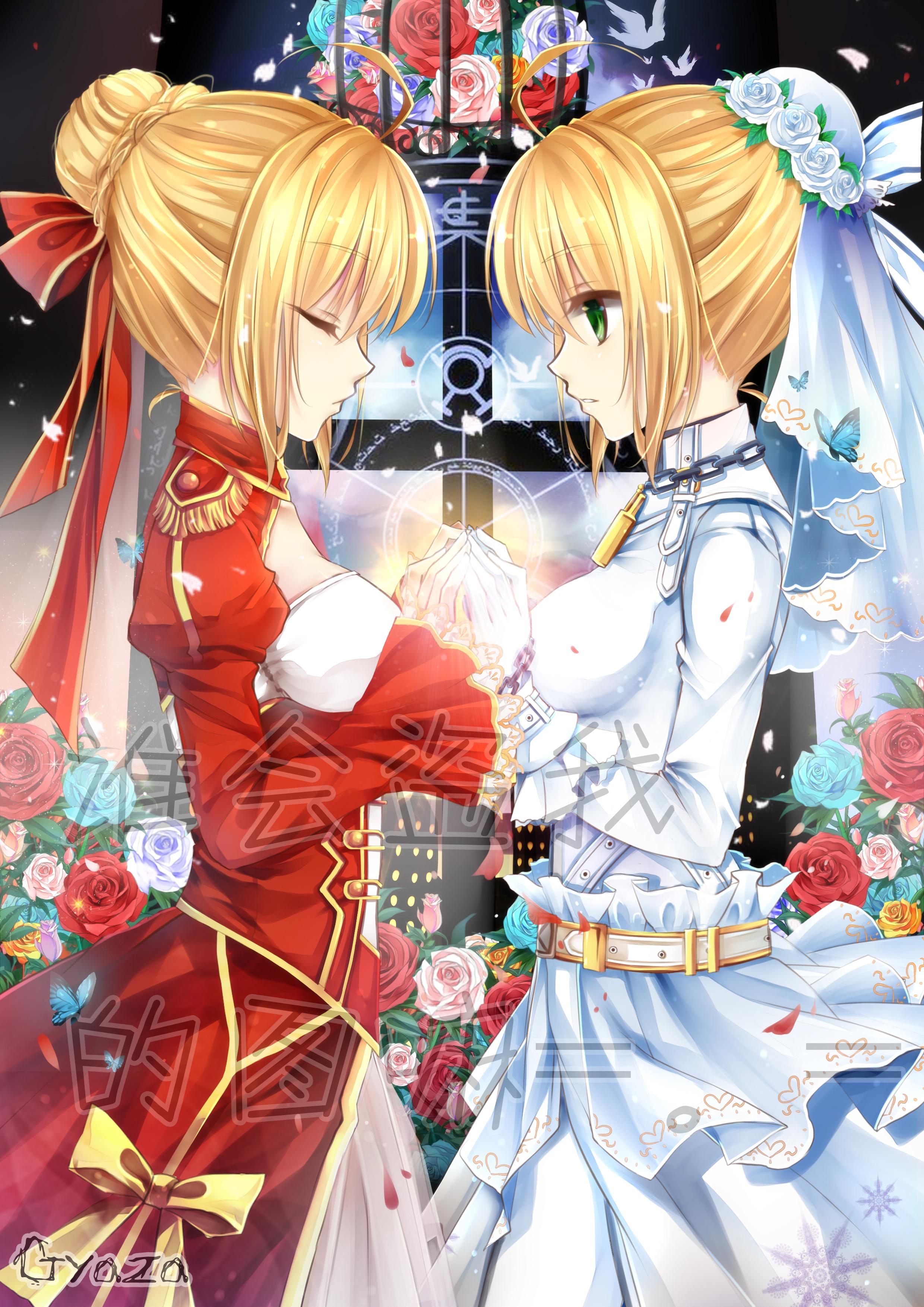 Saber Bride Fanart Zerochan Anime Image Board