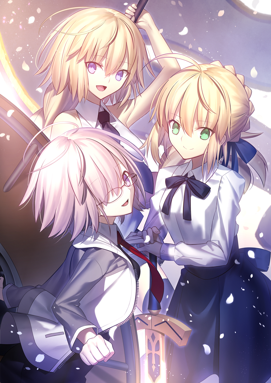 Shielder Fate Grand Order Mobile Wallpaper Zerochan Anime