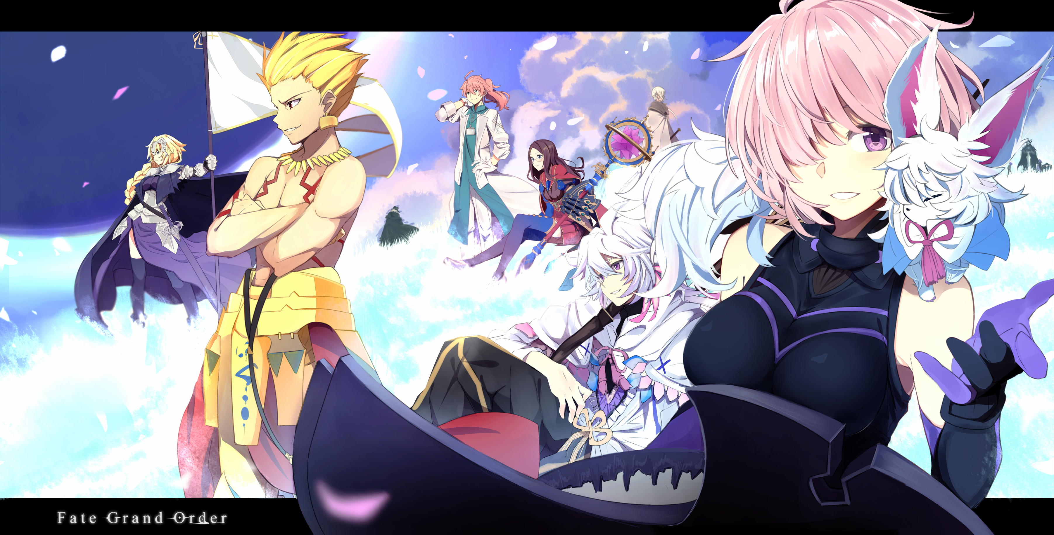 Shielder Fategrand Order Wallpaper Zerochan Anime