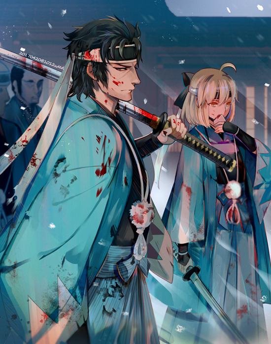 Купить New Sakura Saber Altria Pendragon Classic Game