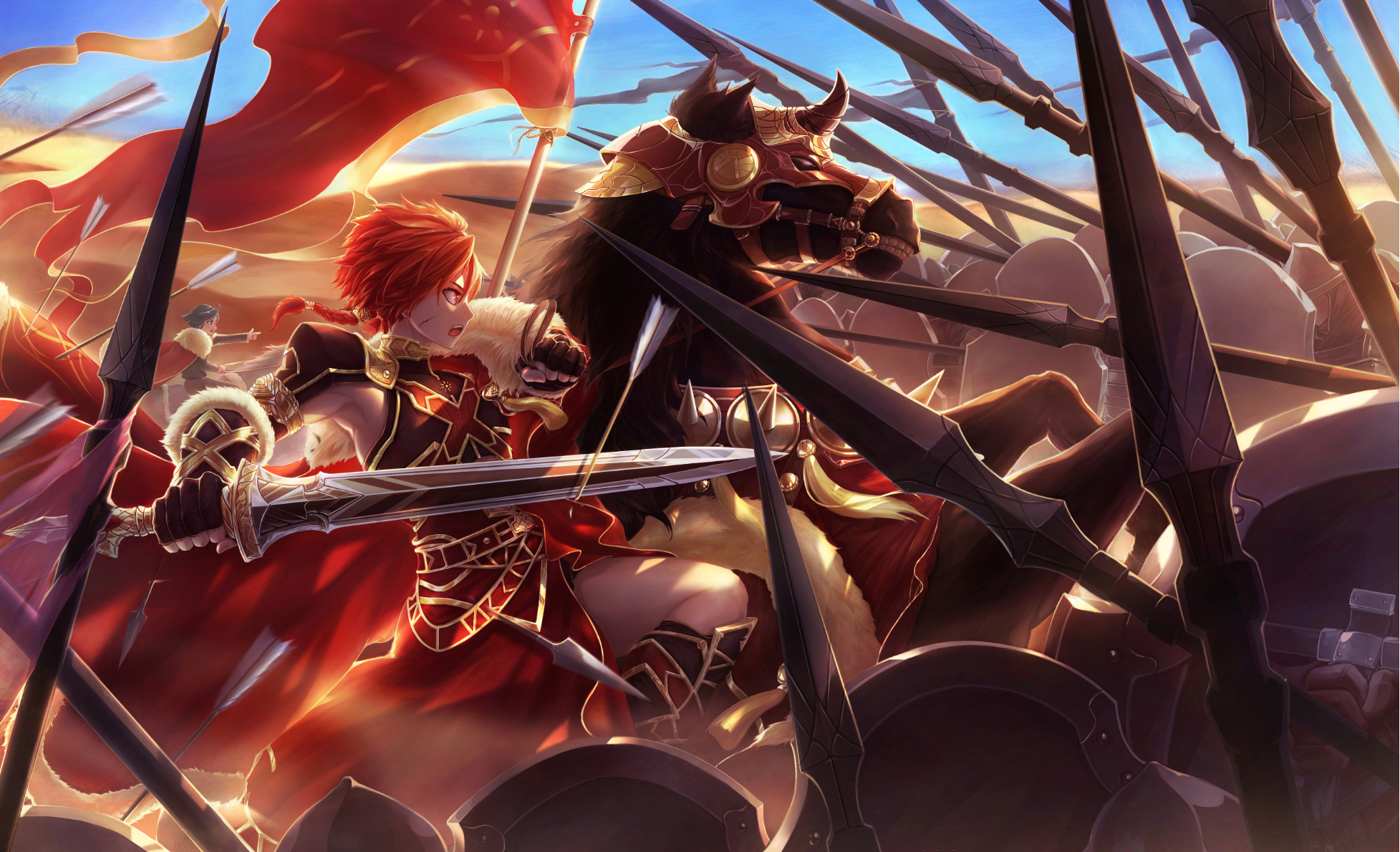 Fate Grand Order Wallpaper 2122302 Zerochan Anime Image Board