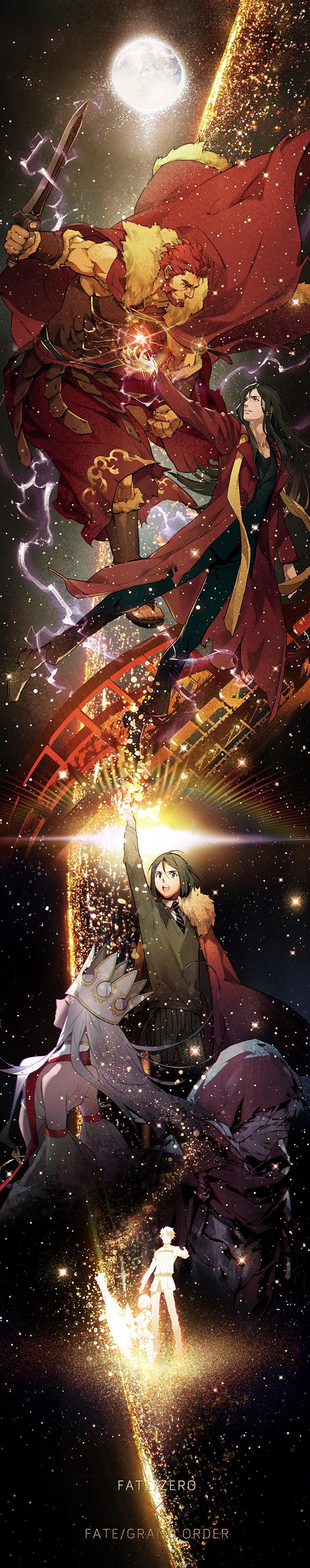 Tags: Anime, Xiling, Fate/Grand Order, Ritsuka Fujimaru, Rider (Fate/zero), Shielder (Fate/Grand Order), Waver Velvet, Irisviel von Einzbern, Caster (Irisviel von Einzbern), Lord El-Melloi II, Emiya Kiritsugu, Assassin (EMIYA)