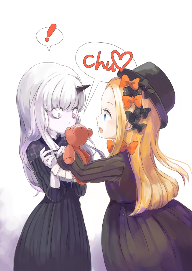 Tags: Anime, Pixiv Id 10043376, Fate/Grand Order, Lavinia Whateley, Foreigner (Abigail Williams)