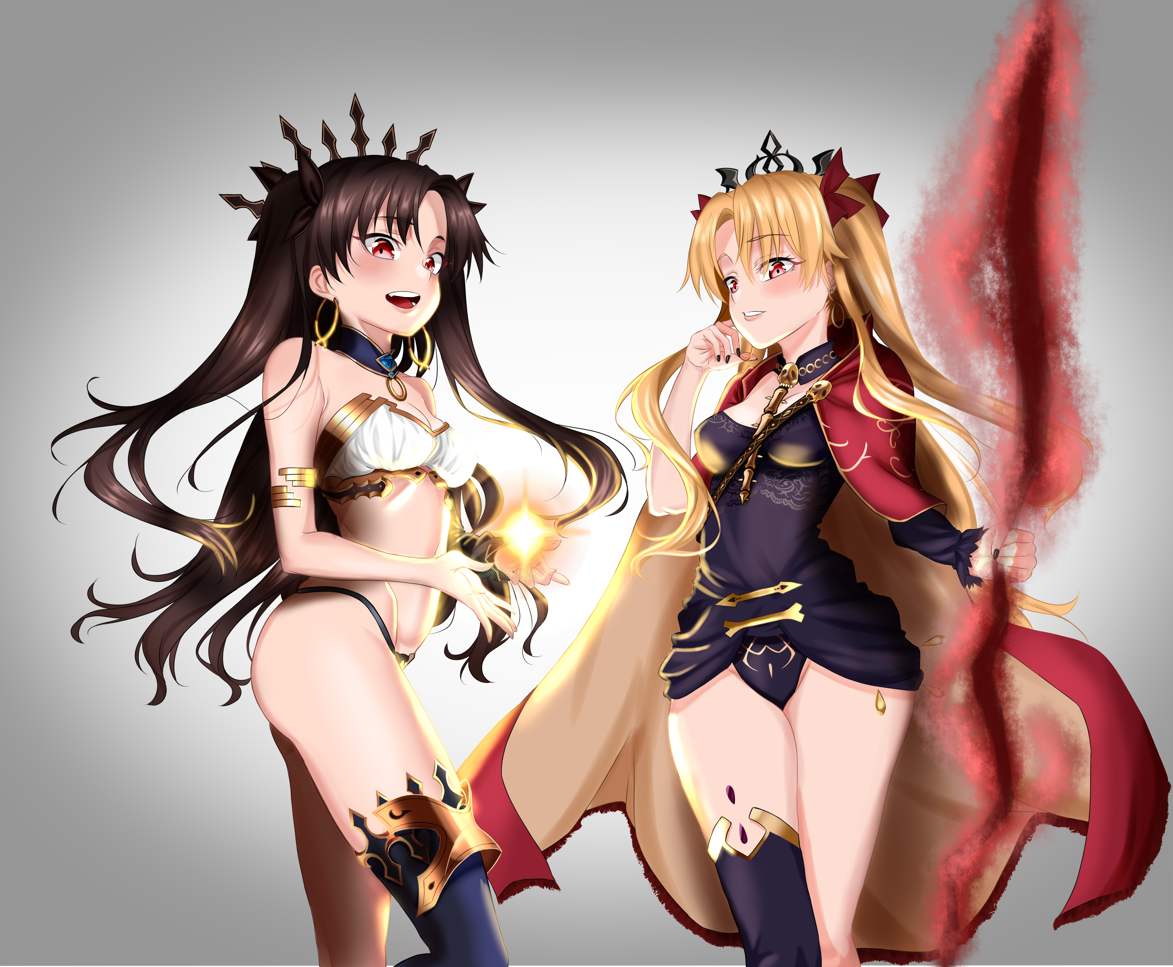 Download Ishtar And Ereshkigal Figure Pictures