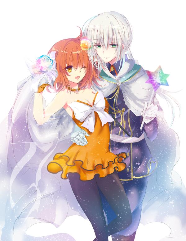 Tags: Anime, Pixiv Id 2379335, Fate/Grand Order, Fate/stay night, Gudako, Bedivere (Fate/stay night)