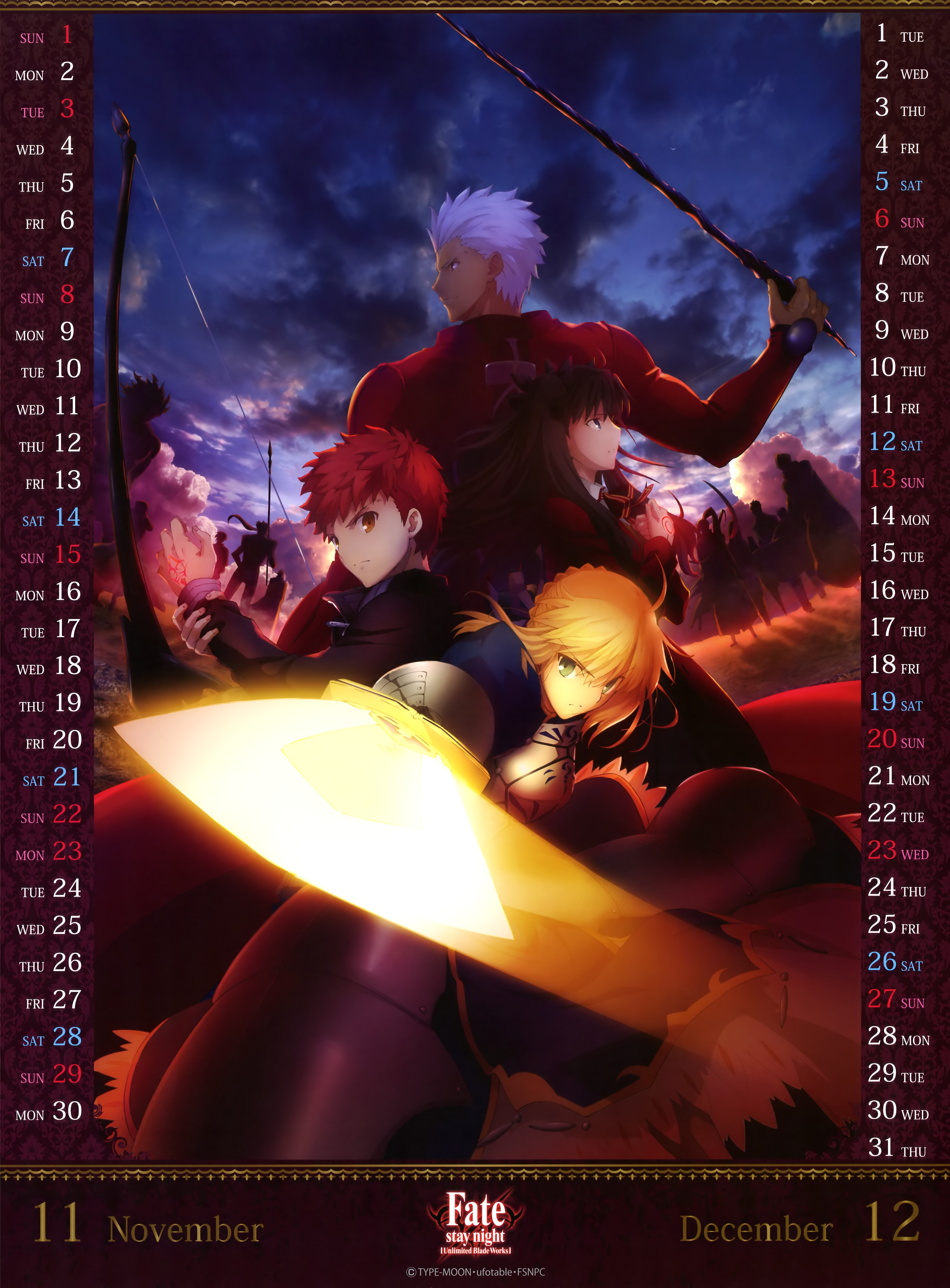 Fate Stay Night Unlimited Blade Works Mobile Wallpaper Zerochan Anime Image Board Mobile