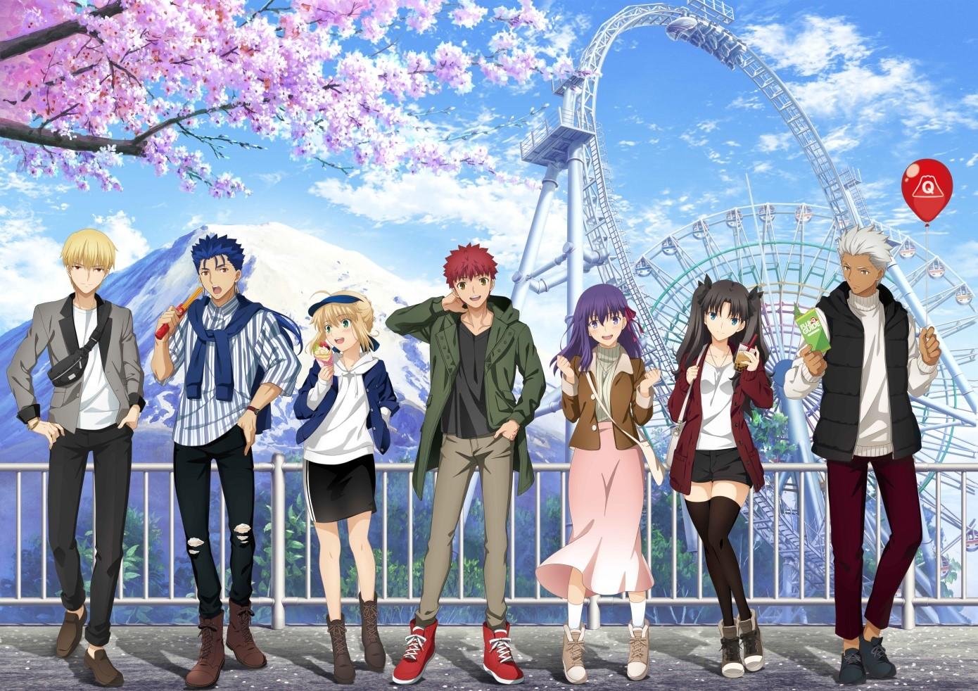 Fate Stay Night Heaven S Feel Iii Spring Song Zerochan Anime Image Board