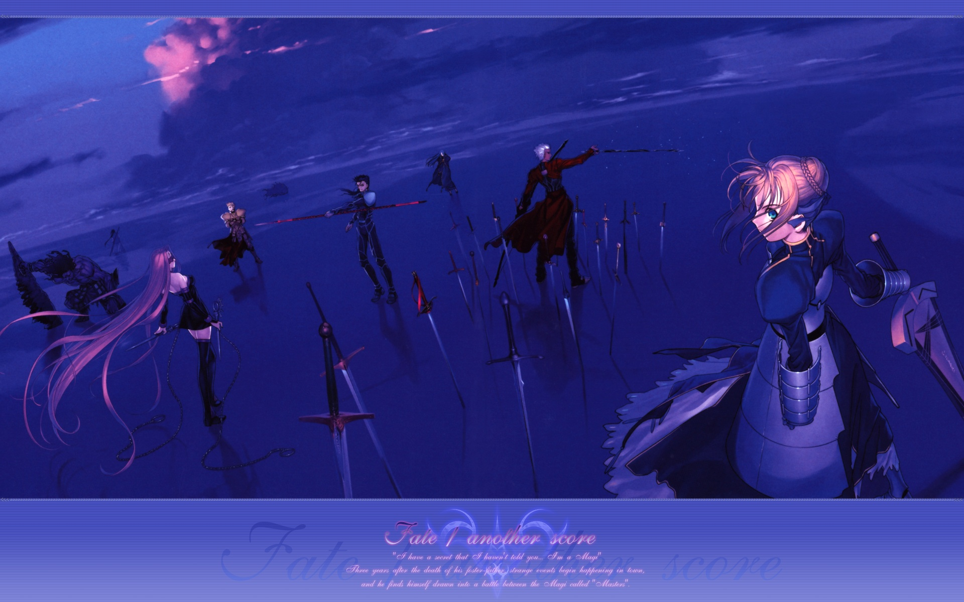 Fate Stay Night Wallpaper 1278198 Zerochan Anime Image Board
