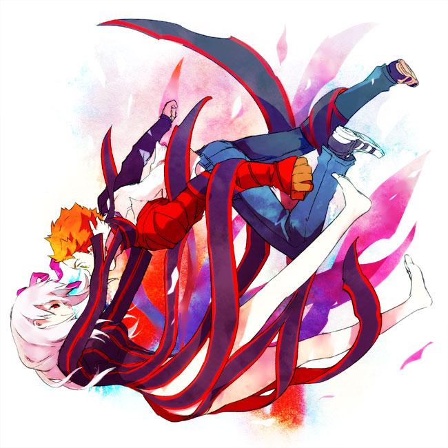 Tags: Anime, Smi, TYPE-MOON, Fate/stay night, Emiya Shirou, Matou Sakura, Dark Sakura
