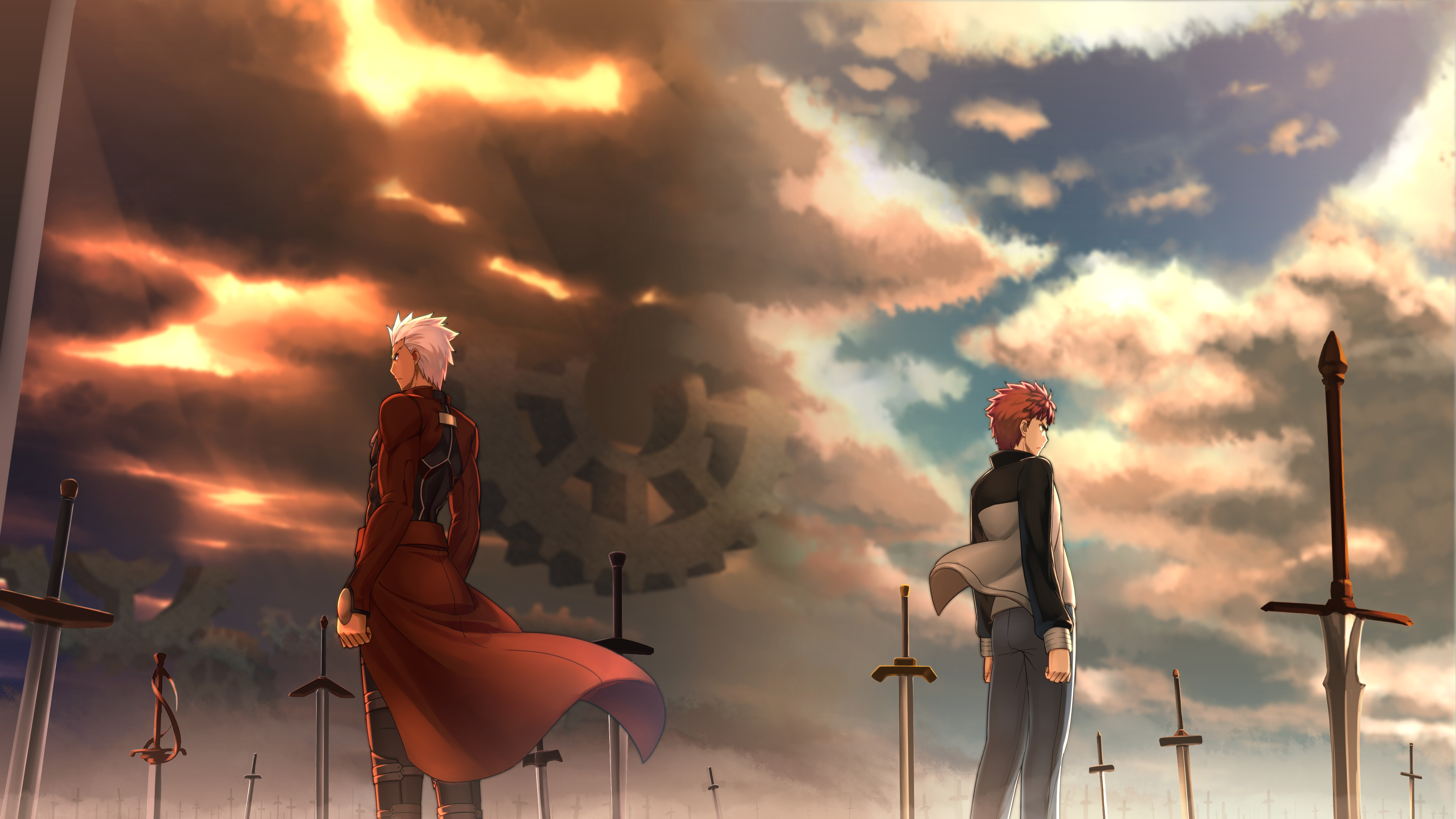 Awesome Wallpaper Archer Shirou Fatestaynight