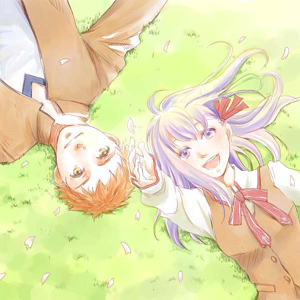 Tags: Anime, TYPE-MOON, Fate/stay night, Emiya Shirou, Matou Sakura, Pixiv