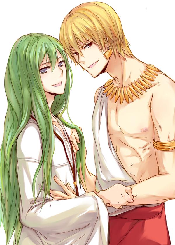 Gilgamesh And Enkidu Fate Zero