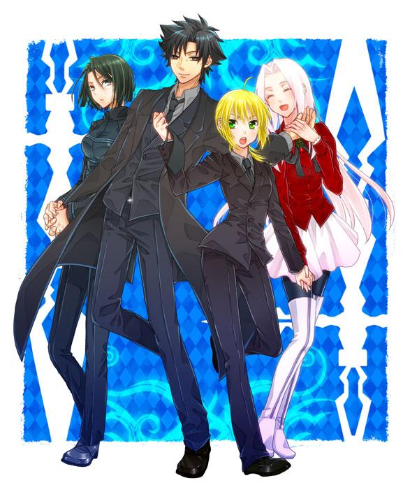 saber fatestay night suit page 12 zerochan anime
