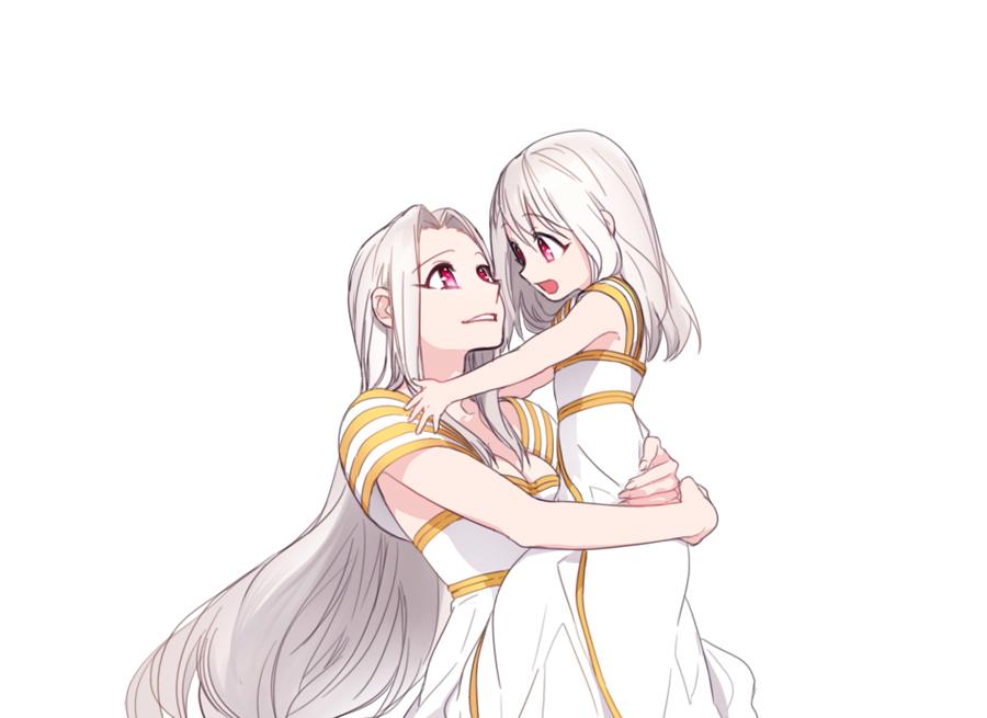 Картинки аниме мать и ребенок